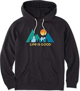 cc4d78ce5a4 Life is good Womens Mountainimalist Simply True Hoodie XXL Night Black