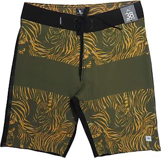 Rip Curl Bermuda Boardshort Rip Curl Medina Striker Military 20 Cor:Verde;Tamanho:46