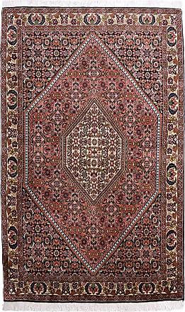 Nain Trading 150x93 Tappeto Bidjar Grigio/Viola (Lana, Persia/Iran, Annodato a mano)