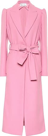 Red Valentino Belted wool-blend coat