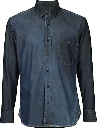 Cerruti fitted button-down shirt - Blue