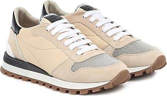 Brunello Cucinelli Sneakers mit Veloursleder
