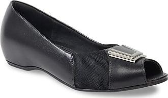 Usaflex Sapato Peep Toe Usaflex Feminino N2289 Joanete