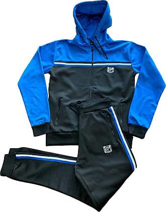Mens Tracksuit Set Hoodie Sweatsuit Slim Fit Top Bottoms Joggers Gym Jogging UK