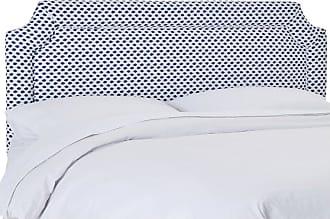 Skyline Furniture Skyline Sahara Midnight Upholstered Notched Headboard, Size: Queen - 212QSHRMDNWHTFLX