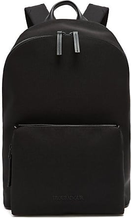 Troubadour Taschen Adventure Slipstream Leather-trim Backpack - Mens - Black