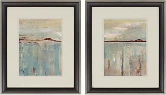 Paragon Picture Gallery Paragon Horizon Framed Wall Art - Set of 2 - 1675