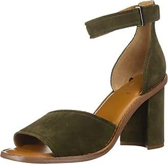 Franco Sarto Womens CAIA Heeled Sandal, Military Green, 9.5 M US