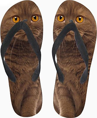 Coloranimal Cute Animal Pet Cat Flip Flops Comfortable T-Straps Beach Water Flip Flops EU38