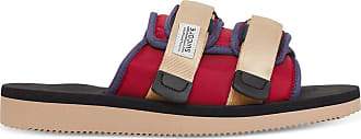 Suicoke Moto-cab slippers RED / BLACK 35