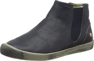 Softinos Womens Ici486sof Chelsea Boots, Blue (Navy 008), 2.5 UK