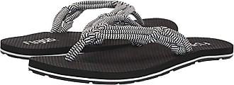 Flojos Aster (Black/White) Womens Shoes