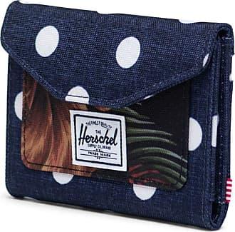 Herschel Herschel Orion RFID Wallet Polka Dot Crosshatch Peacoat/Tropical Hibiscus