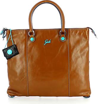 Gabs Gabs G3 Plus Flat Bag M Cuoio