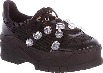 Damannu Shoes Tênis Pedraria Lilian Preto - Cor: Preto - Tamanho: 38