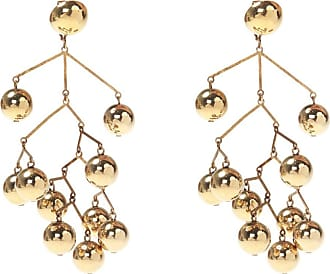 Jil Sander Clip-on Earrings With Charms Womens Gold