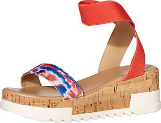 Yoki Womens BRENDA-10 Flat Sandal, Tie Dye, 4 UK