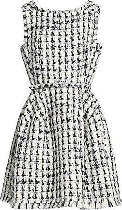 af95efc51b1e Oscar De La Renta Oscar De La Renta Woman Belted Wool And Cotton-blend  Bouclé