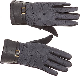 Sakkas GL171 - Emie Quilted and Lace Super Soft Warm Driving Gloves Touch Screen Capable - 17104-navy - S/M