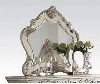 ACME 27014 Ragenardus Mirror, Antique White