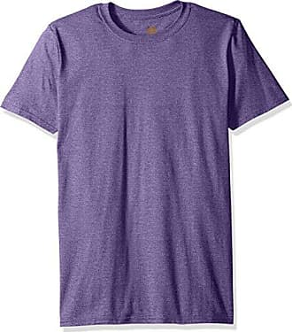 Gold Toe Mens Crew Neck T-Shirt, Heather Purple, Small