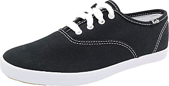 Keds CHAMPIONCVO BLK/WHT Girls Sneakers, Shoe Size:2.5 UK, Colour:Schwarz