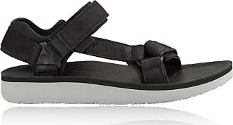 1aee0b78ba17 Teva Womens Original Universal Premier Leather Walking Sandal - 3 Black