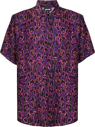Just Cavalli Camisa com estampa leopardo - Preto