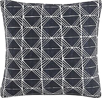 Skyline Furniture 20 in. Block Print Indigo Feather Fill Pillow - PL20BLCPRNINDOGA