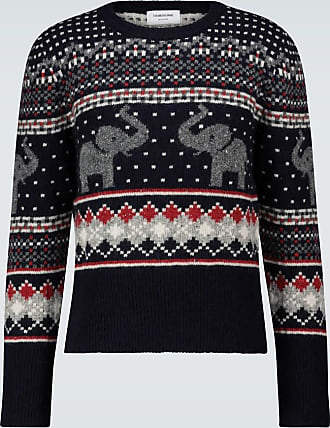 Thom Browne Pullover Icon Elephant