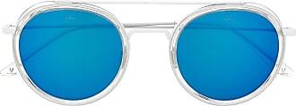 Vuarnet Óculos de sol redondo Edge 1613 - Branco