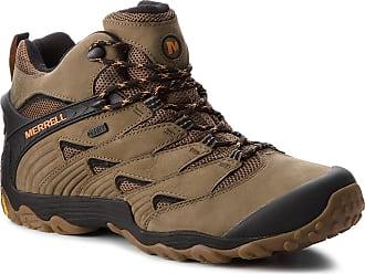 Merrell Scarpe da trekking MERRELL - Cham 7 Mid Wp J12045 Dusty Olive 983b5351b4c