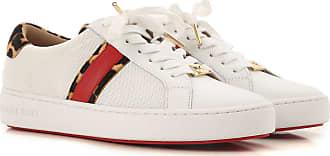 Michael Kors Sneaker für Damen, Tennisschuh, Turnschuh Günstig im Sale, Weiss, Leder, 2019, 35 36 36.5 38 38.5 39