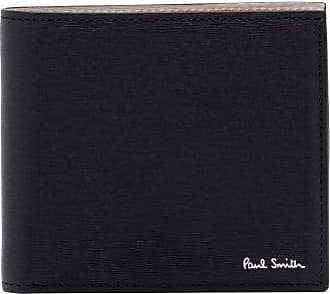 Paul Smith Leather Bifold Wallet - Mens - Black