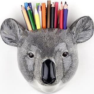 Quail Ceramics Koala Wall Vase - Grey