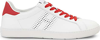 Hogan Sneakers H327, ROSSO,BIANCO, 11.5 - Scarpe