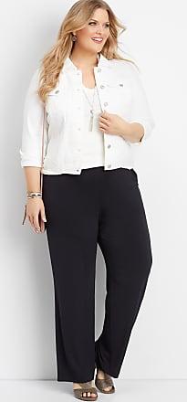 Maurices Plus Size - Black Wide Leg Pant