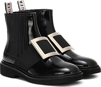 Roger Vivier Ankle Boots Chelsea Viv aus Leder