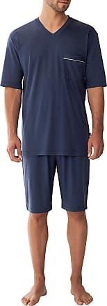 Zimmerli Zimmerli Mens Jersey Short Pajama XL Navy