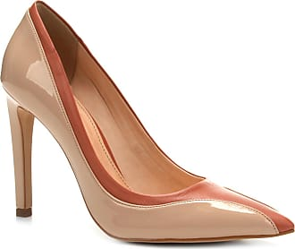 1961ae9786 Shoestock Scarpin Couro Shoestock Salto Alto Ondas - Feminino