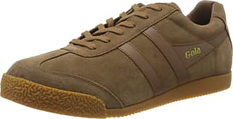 Gola Mens Harrier Sneaker, Tobacco/Tobacco/Gum
