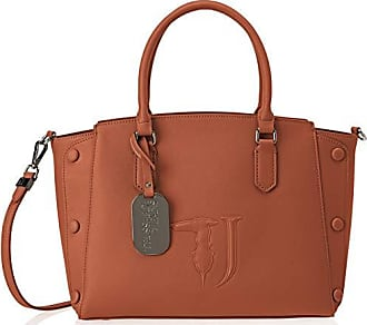 030b3eb6802ab Trussardi Damen Melissa Tote Medium Bag Covered Studs Braun (Leather On  Tone)