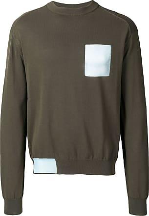 OAMC Suéter com detalhes contrastantes - Verde