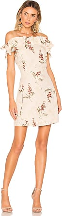 Rebecca Taylor Ivie Embroidered Dress in White