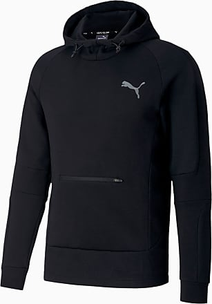Puma Evostripe Mens Hoodie, Black, size 2X Large, Clothing