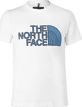 The North Face Black Series City Slim-fit Appliquéd Cotton-blend Jersey T-shirt - White