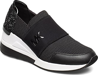 Michael Kors Felix Trainer Låga Sneakers Svart Michael Kors Shoes
