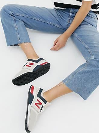New Balance 247 - Cremefarbige Sneaker-Mehrfarbig