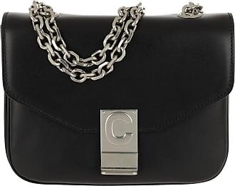 3c2fa80924b8f Celine C Bag Small Shiny Calfskin Black Umhängetasche schwarz