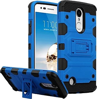 Mundaze Blue Defense Double Layered Case For LG V5 Harmony Phone
